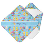Happy Easter Hooded Baby Towel (Personalized)