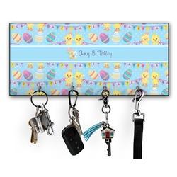 Happy Easter Key Hanger w/ 4 Hooks (Personalized)