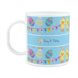 Happy Easter Plastic Kids Mug (Personalized)