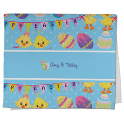 Happy Easter Kitchen Towel - Full Print (Personalized)