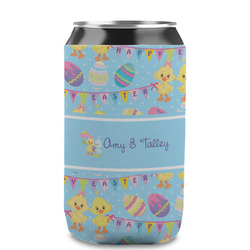 Happy Easter Can Sleeve (12 oz) (Personalized)