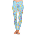Happy Easter Ladies Leggings (Personalized)