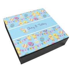 Happy Easter Leatherette Keepsake Box - 3 Sizes (Personalized)