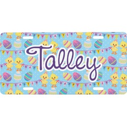 Happy Easter Front License Plate (Personalized)