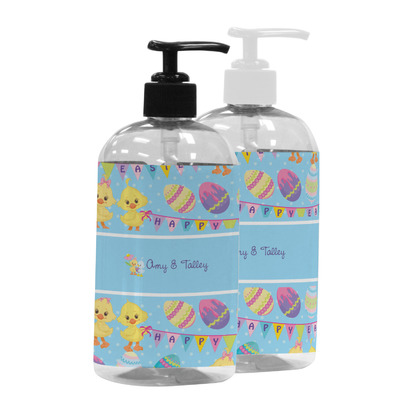 Happy Easter Plastic Soap / Lotion Dispenser (Personalized)