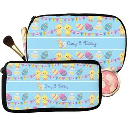 Happy Easter Makeup / Cosmetic Bag (Personalized)