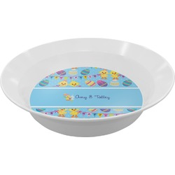 Happy Easter Melamine Bowl (Personalized)