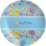 Happy Easter Melamine Plate (Personalized)