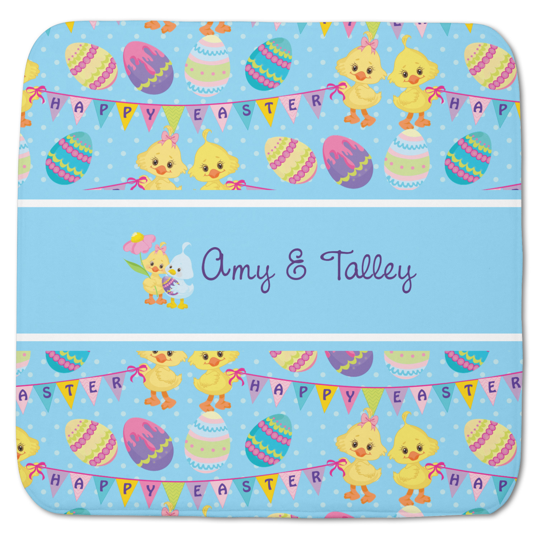 Happy Easter Memory Foam Bath Mat Personalized