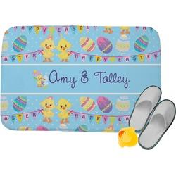 Happy Easter Memory Foam Bath Mat (Personalized)