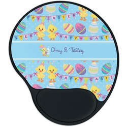 Happy Easter Mouse Pad with Wrist Support