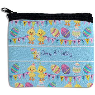 Happy Easter Rectangular Coin Purse (Personalized)