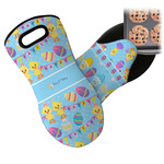 Happy Easter Neoprene Oven Mitt (Personalized)