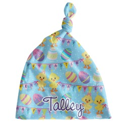 Happy Easter Newborn Hat - Knotted (Personalized)