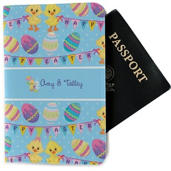 Happy Easter Passport Holder - Fabric (Personalized)