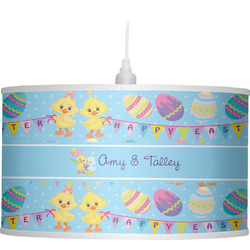 Happy Easter Drum Pendant Lamp (Personalized)
