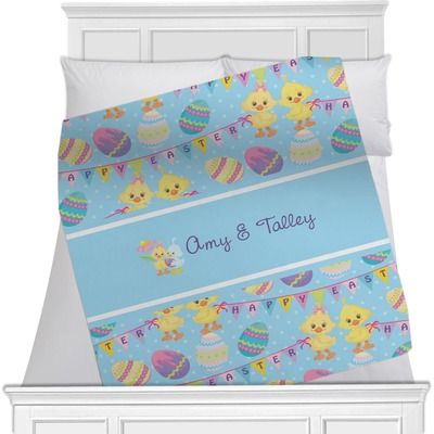 Happy Easter Minky Blanket (Personalized)