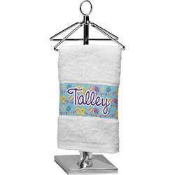 Happy Easter Cotton Finger Tip Towel (Personalized)
