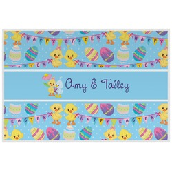 Happy Easter Placemat (Laminated) (Personalized)