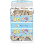 Happy Easter Dog Treat Jar (Personalized)
