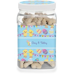 Happy Easter Pet Treat Jar (Personalized)