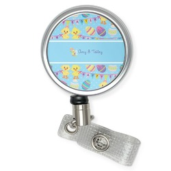 Happy Easter Retractable Badge Reel (Personalized)