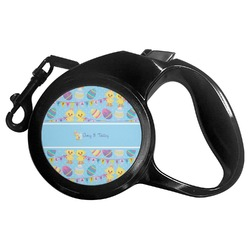 Happy Easter Retractable Dog Leash (Personalized)