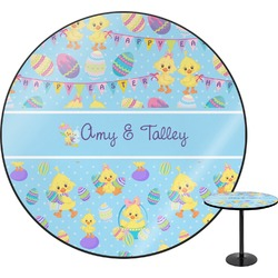 Happy Easter Round Table (Personalized)