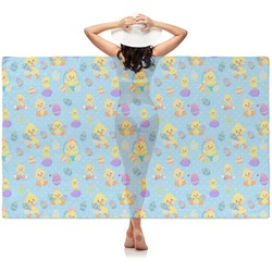 Happy Easter Sheer Sarong (Personalized)
