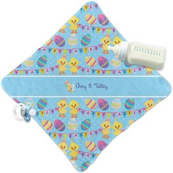 Happy Easter Security Blanket (Personalized)