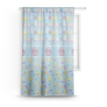 Happy Easter Sheer Curtains (Personalized)