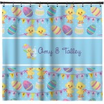 Happy Easter Shower Curtain (Personalized)