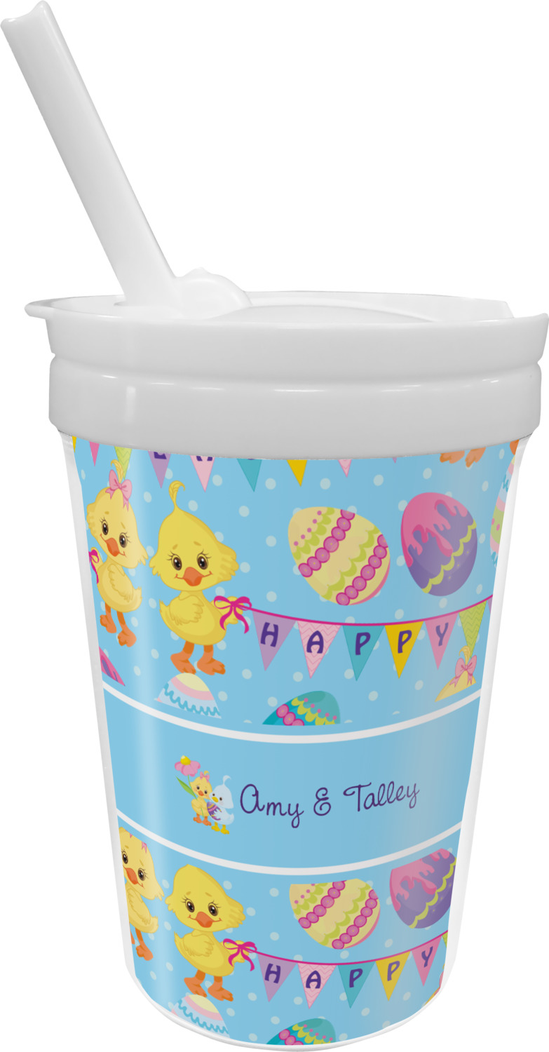 The First Years Take & Toss Spill-Proof Straw Cups 10oz, 4pk (Colors