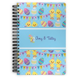 Happy Easter Spiral Bound Notebook (Personalized)
