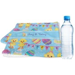 Happy Easter Sports Towel (Personalized)