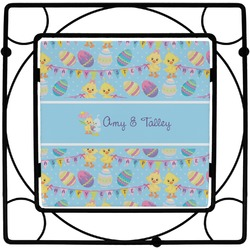 Happy Easter Square Trivet (Personalized)