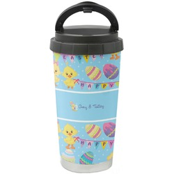 Happy Easter Stainless Steel Coffee Tumbler (Personalized)