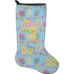 Happy Easter Christmas Stocking - Neoprene (Personalized)