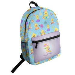 Happy Easter Student Backpack (Personalized)