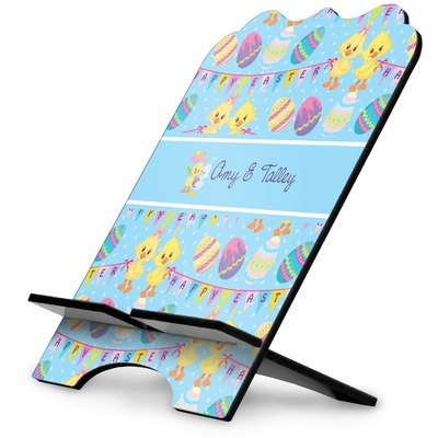 Happy Easter Stylized Tablet Stand (Personalized)