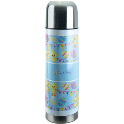 Happy Easter Stainless Steel Thermos (Personalized)