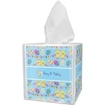 Happy Easter Tissue Box Cover (Personalized)