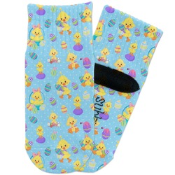 Happy Easter Toddler Ankle Socks (Personalized)