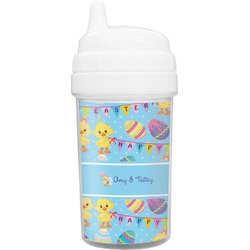Happy Easter Toddler Sippy Cup (Personalized)