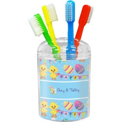 Happy Easter Toothbrush Holder (Personalized)