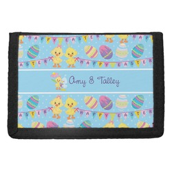 Happy Easter Trifold Wallet (Personalized)