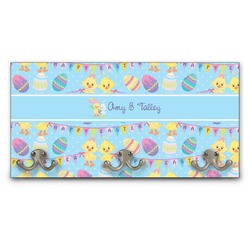 Happy Easter Wall Mounted Coat Rack (Personalized)