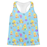 Happy Easter Womens Racerback Tank Top (Personalized)