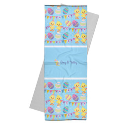 Happy Easter Yoga Mat Towel (Personalized)