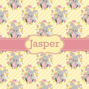 Easter Bunnies & Flowers